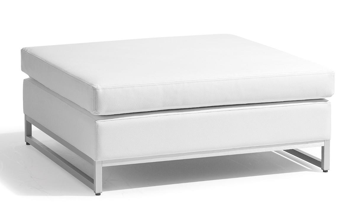 repose pieds table basse moyen zendo de manutti blanc. Black Bedroom Furniture Sets. Home Design Ideas