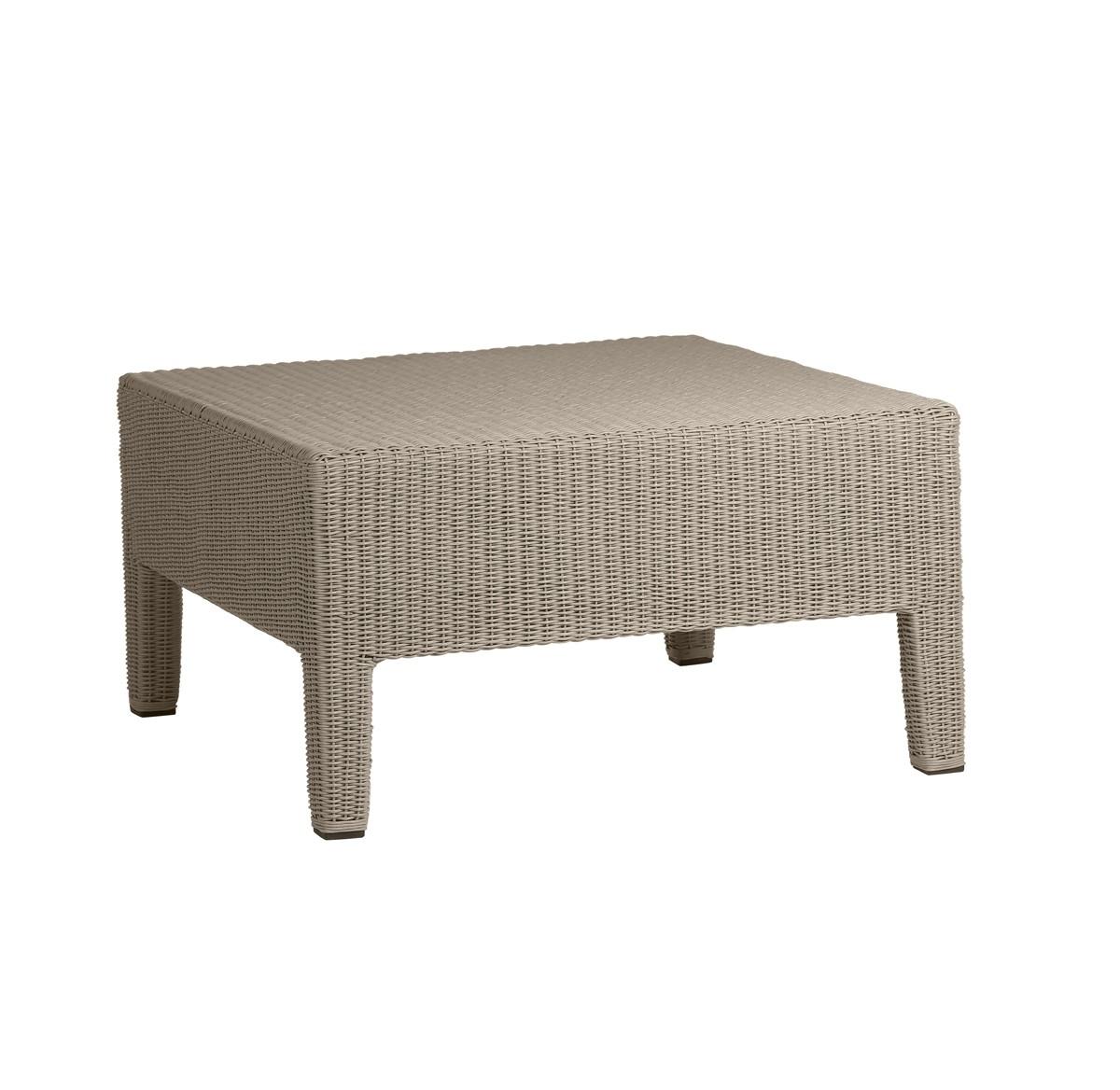 repose pieds terra de trib gris clair. Black Bedroom Furniture Sets. Home Design Ideas