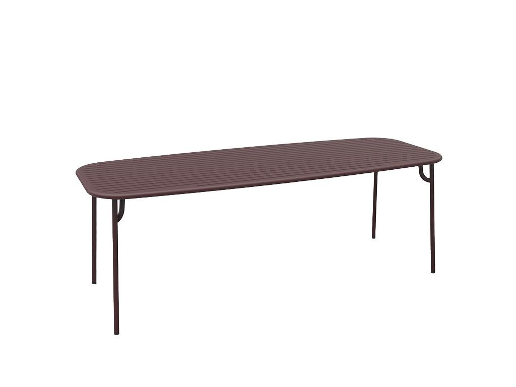 table rectangulaire week end de petite friture 220x85x75. Black Bedroom Furniture Sets. Home Design Ideas