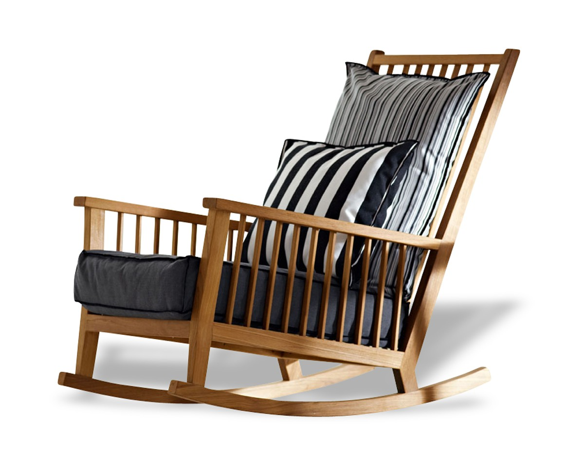 rocking chair inout 709 de gervasoni. Black Bedroom Furniture Sets. Home Design Ideas