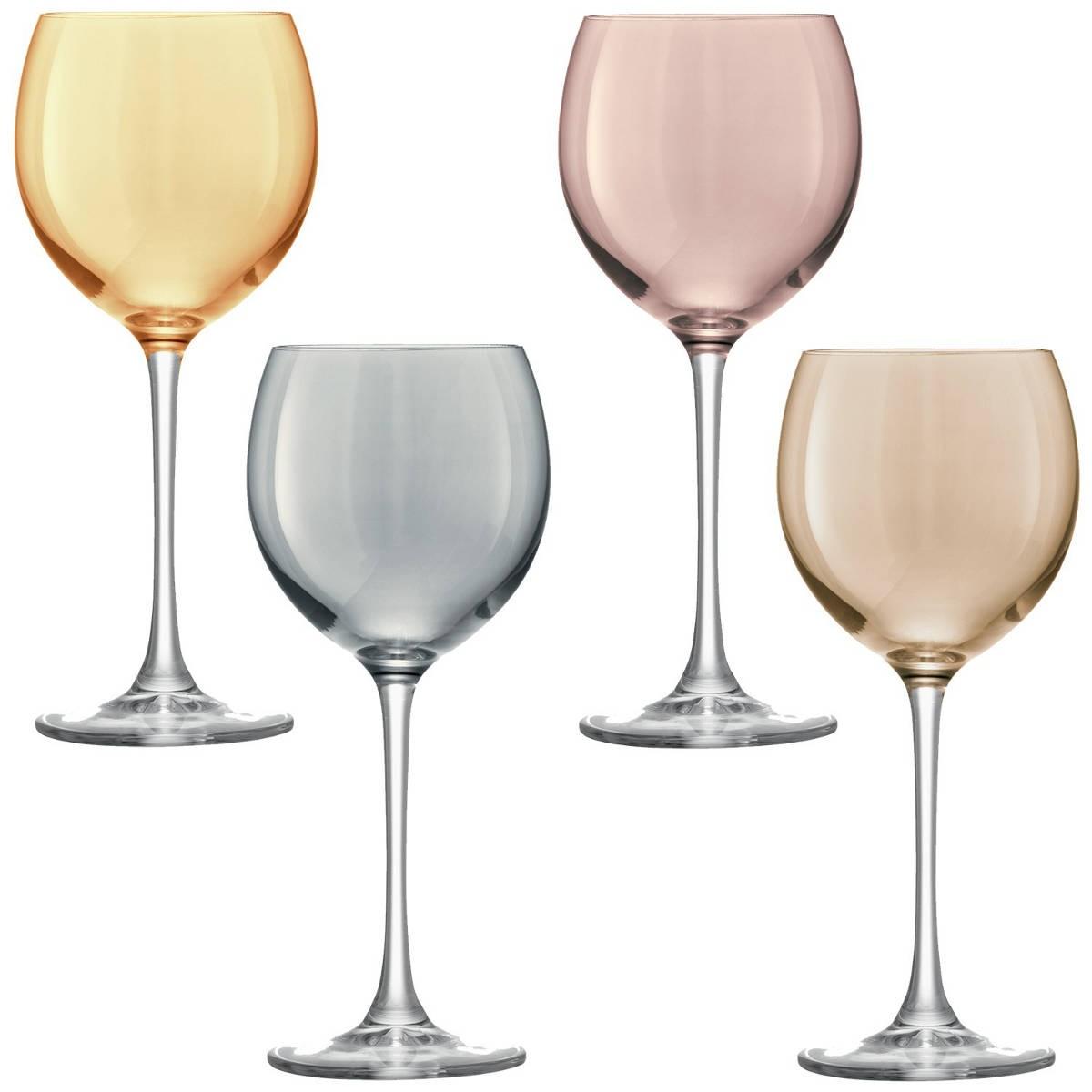 Set de 4 verres à vin POLKA de LSA a7232fc91470