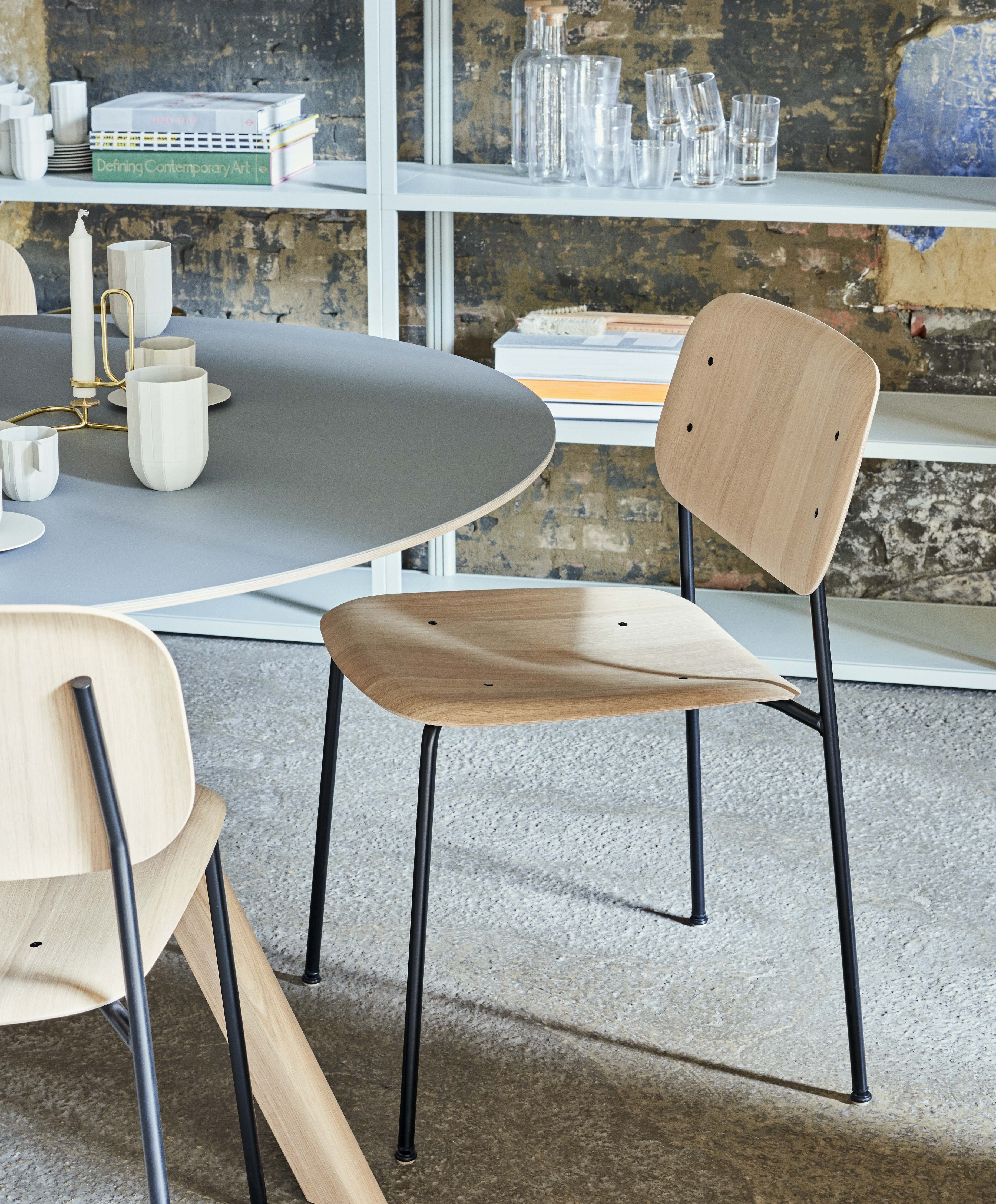 Le Cedre Rouge Paris 16 chaise soft edge 10 de hay, 16 coloris