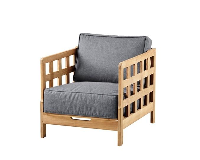 fauteuil square de cane line. Black Bedroom Furniture Sets. Home Design Ideas
