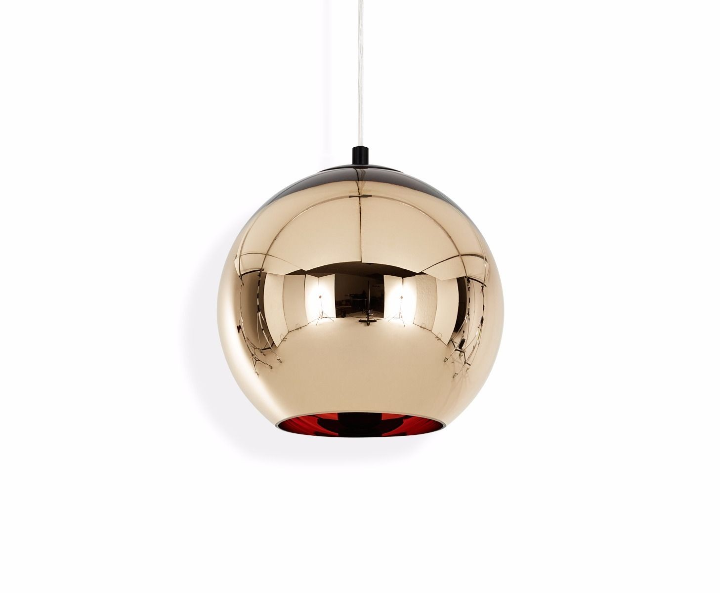 suspension copper bronze shade de tom dixon. Black Bedroom Furniture Sets. Home Design Ideas