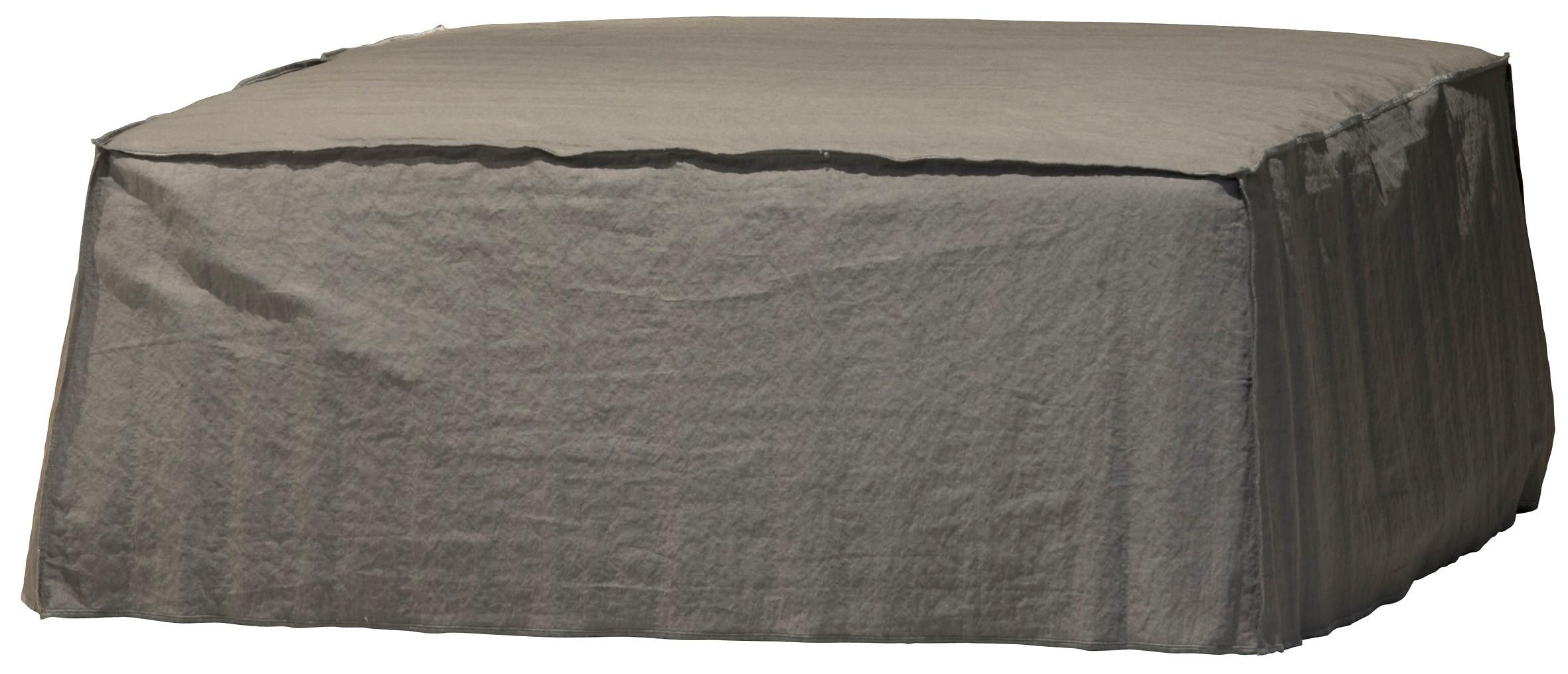 gervasoni pouf de la collection ghost. Black Bedroom Furniture Sets. Home Design Ideas