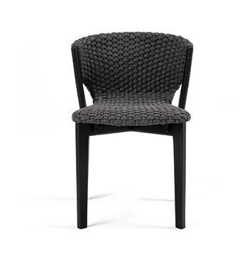 chaise de table ext rieur knit de ethimo 2 coloris. Black Bedroom Furniture Sets. Home Design Ideas