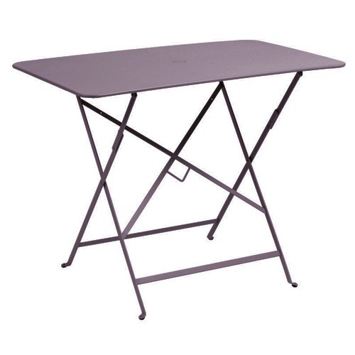 Table rectangulaire 97 x 57 cm bistro de fermob prune - Table fermob bistro ...