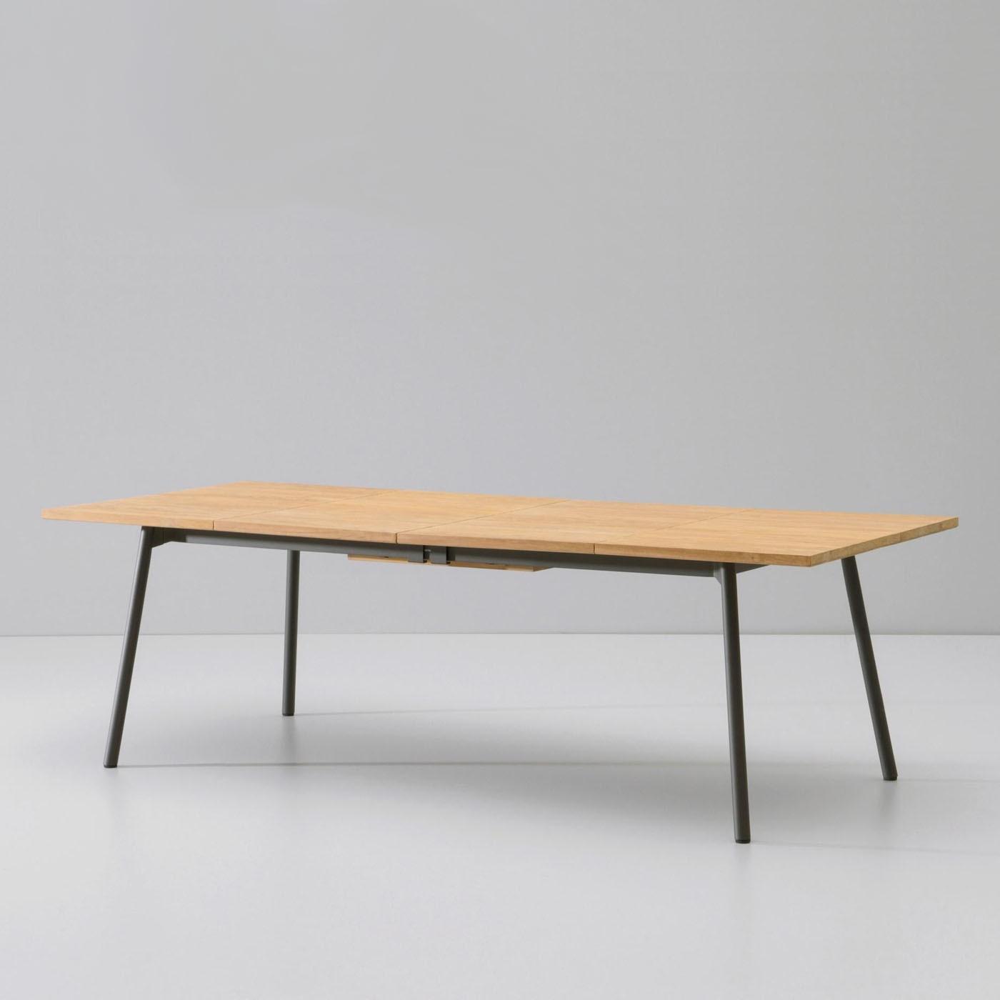 table allonge bitta de kettal. Black Bedroom Furniture Sets. Home Design Ideas