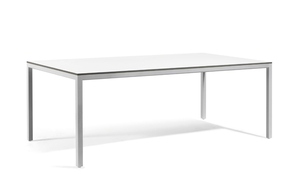 Table manger quarto de manutti 4 tailles 3 coloris for Taille table a manger