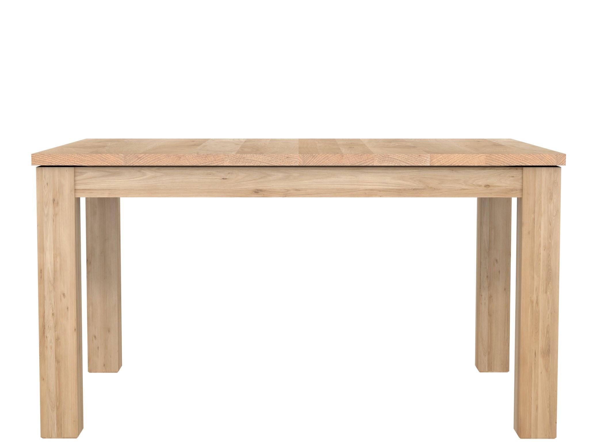 table rallonges stretch en ch ne d 39 ethnicraft. Black Bedroom Furniture Sets. Home Design Ideas
