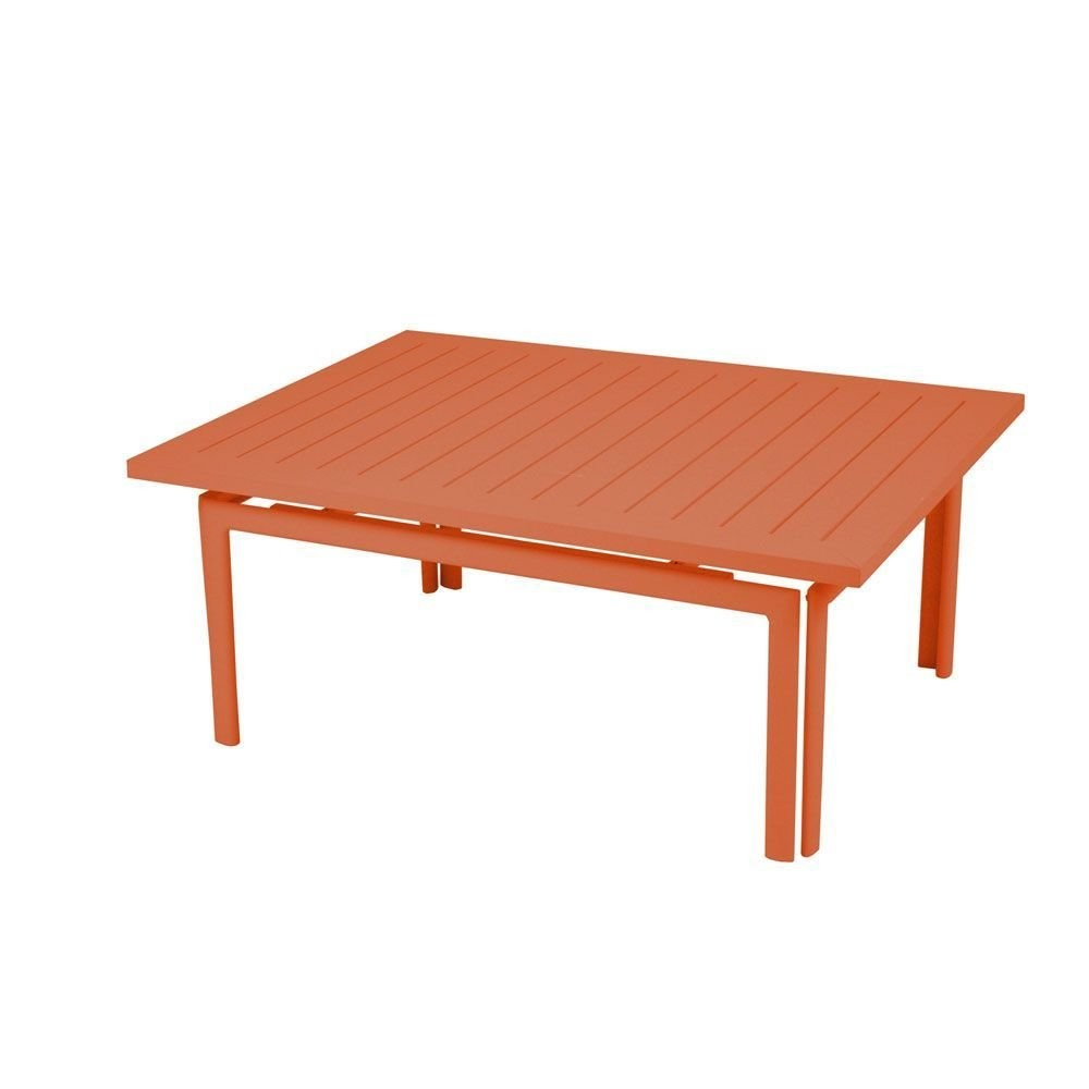 table basse costa de fermob carotte. Black Bedroom Furniture Sets. Home Design Ideas