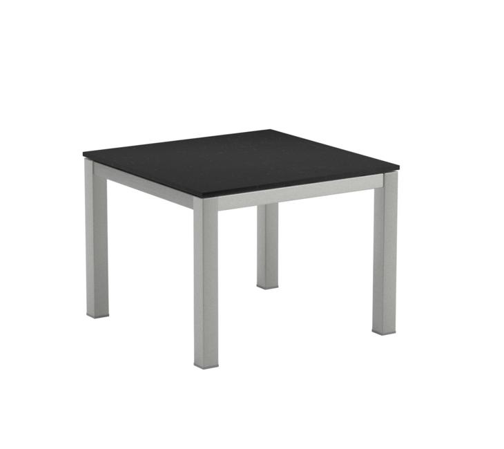 la meilleure attitude 9fcf2 0bf83 Table Basse en verre TABOELA de Royal Botania, 50x50, noir