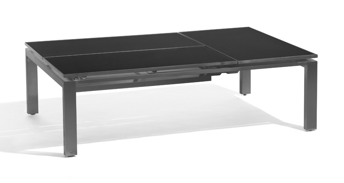 Table Basse Haute Trento Tip Up De Manutti 3 Places
