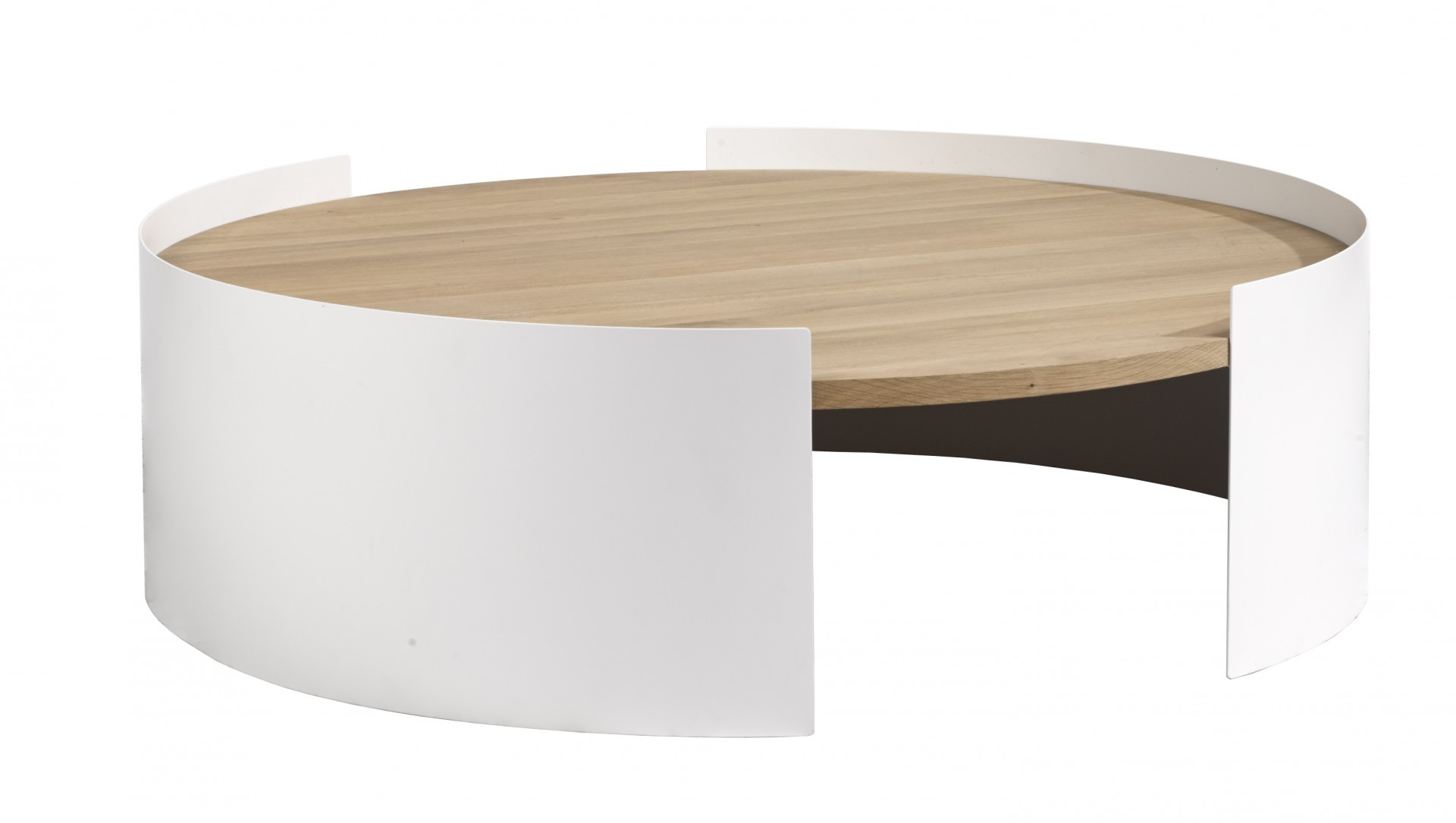 table_basse_moon_de_universo_positivo_100_blanc Meilleur De De Table Basse Scandinave La Redoute