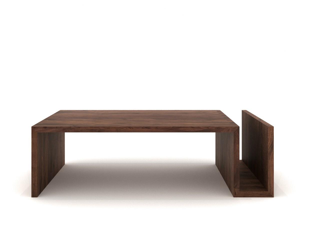 table basse noyer noami d 39 ethnicraft. Black Bedroom Furniture Sets. Home Design Ideas