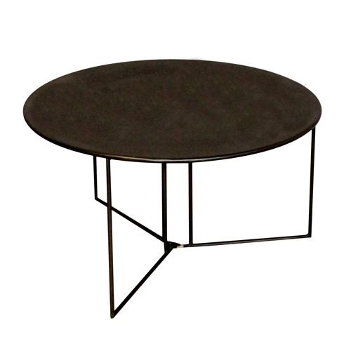 Table basse pliante ronde diablo for Table basse pliante but