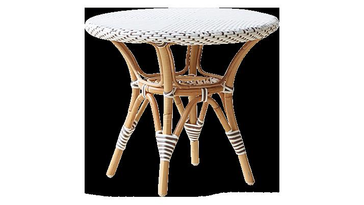 table basse ronde ext rieure danielle de sika design blanc. Black Bedroom Furniture Sets. Home Design Ideas