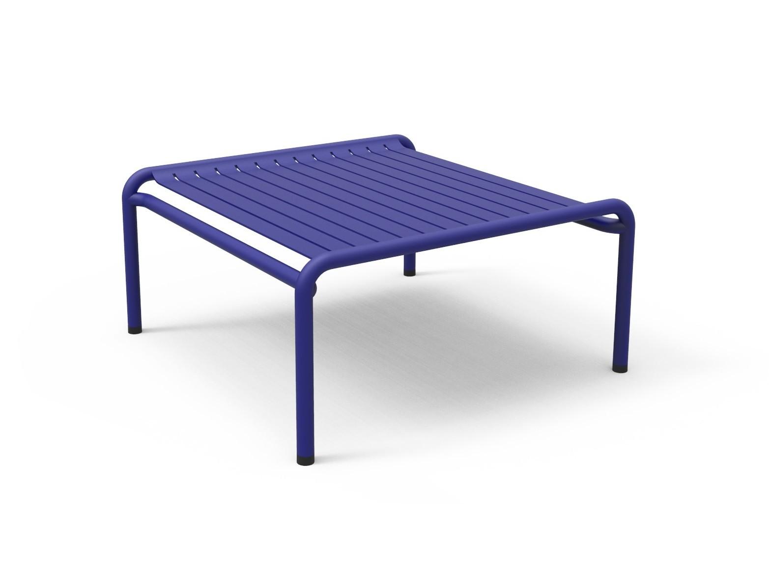 table basse week end de petite friture bleu outremer. Black Bedroom Furniture Sets. Home Design Ideas