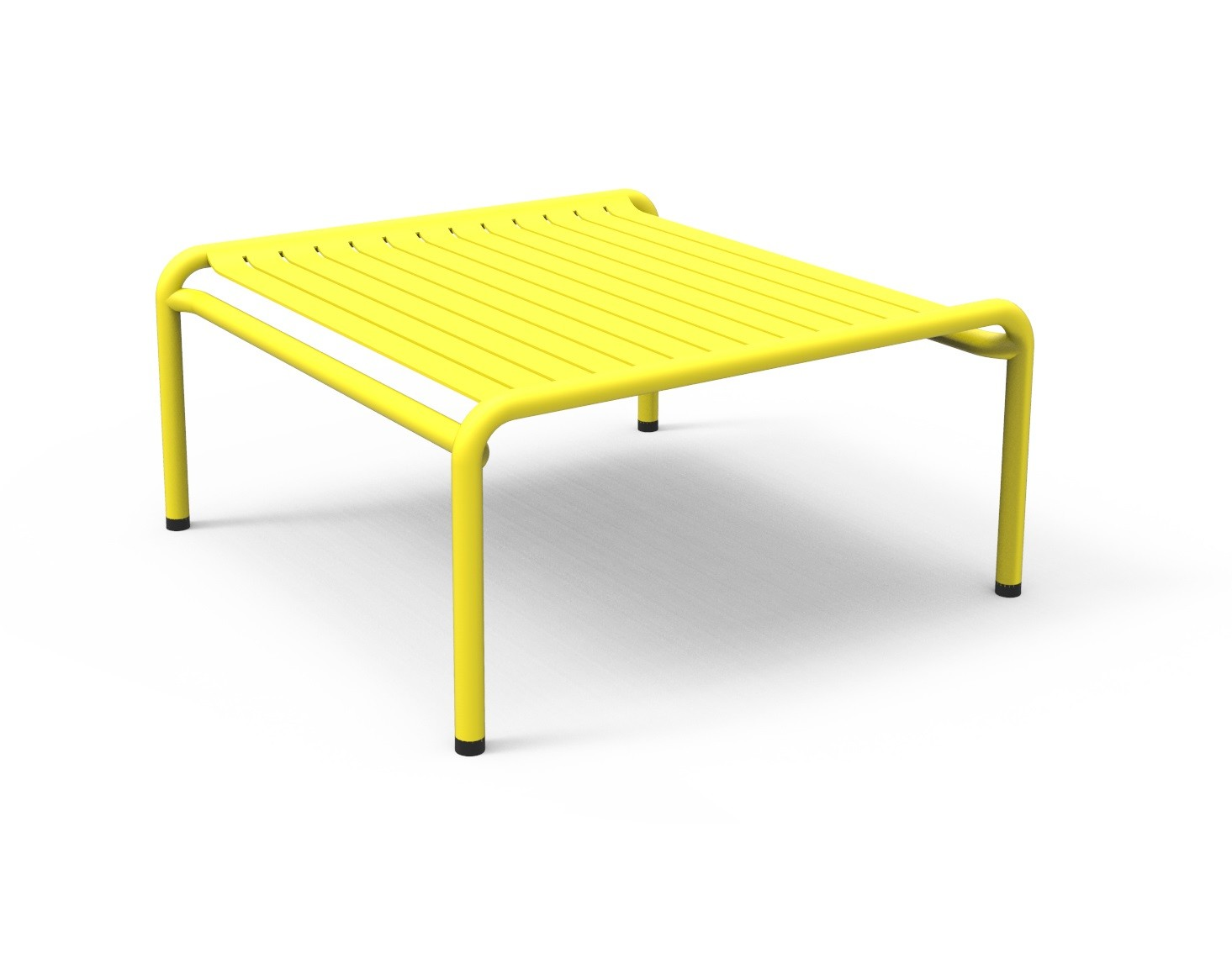 table basse week end de petite friture jaune. Black Bedroom Furniture Sets. Home Design Ideas