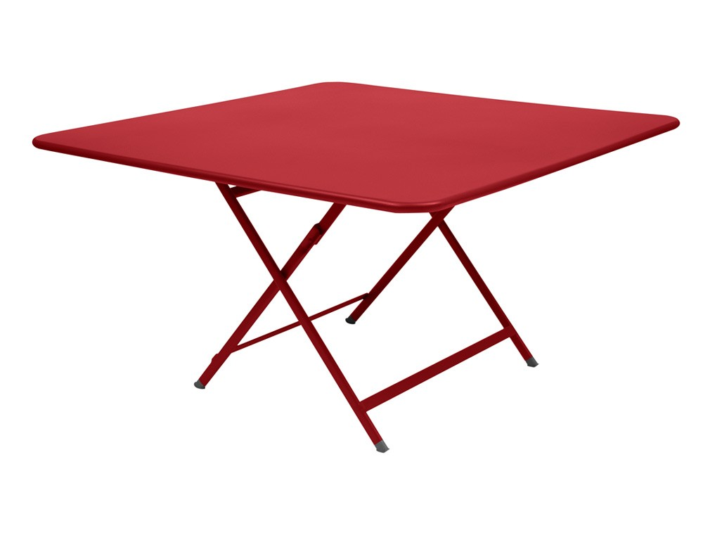 Table caract re de fermob piment for Soldes table de jardin