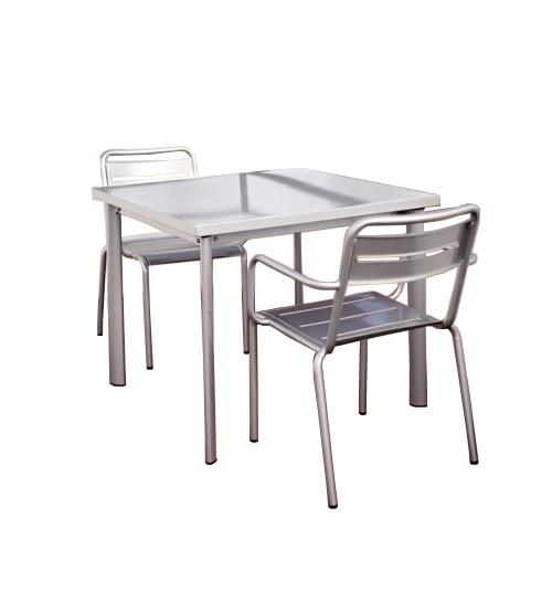 table carr e 70x70 star de emu. Black Bedroom Furniture Sets. Home Design Ideas
