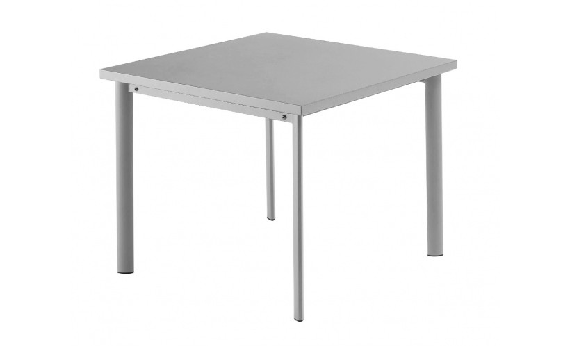 Table carr e 90x90 star de emu aluminium for Table 90x90 design