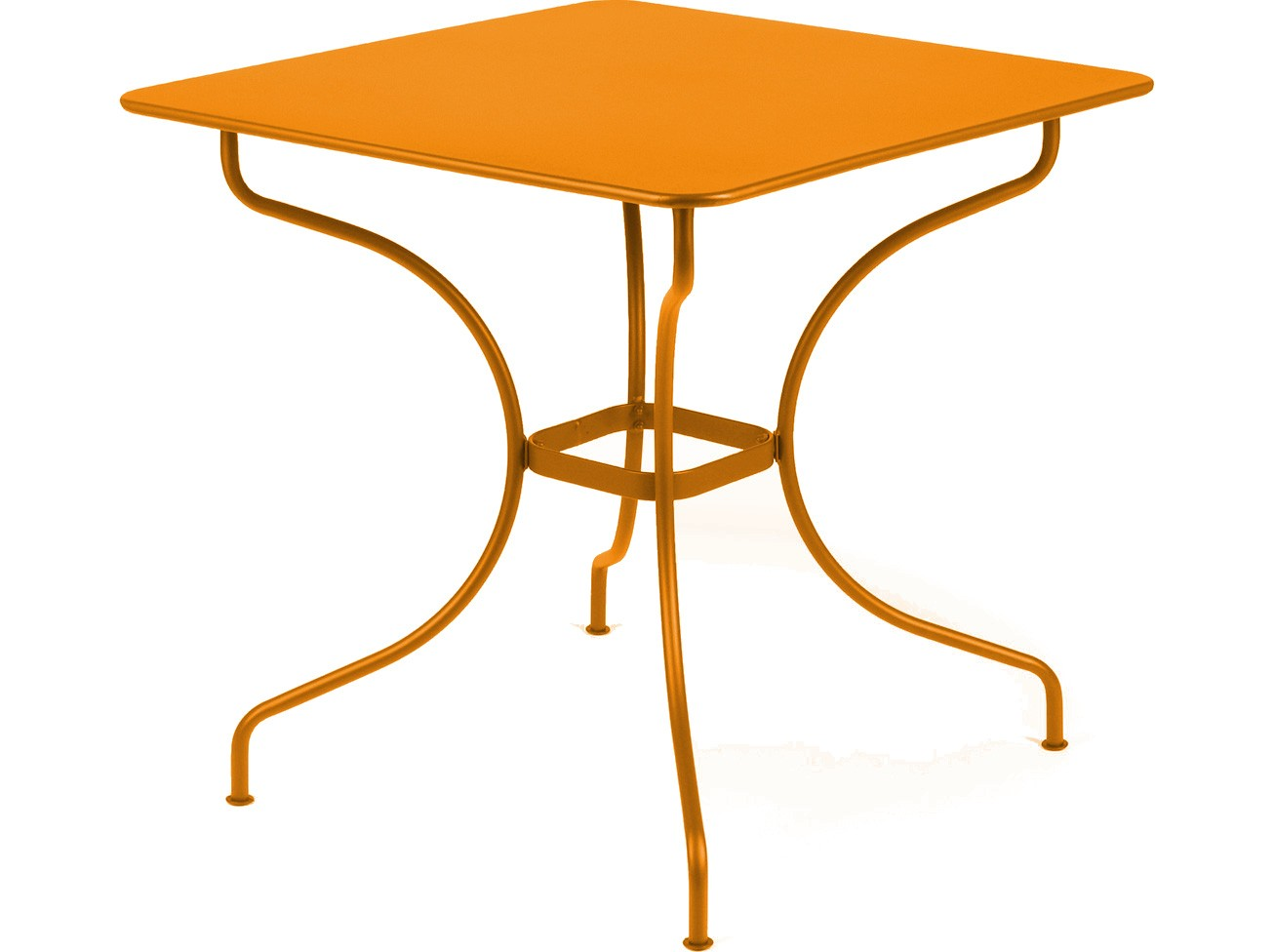Table carr e op ra de fermob carotte - Fermob opera table ...