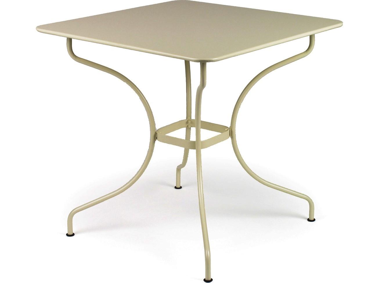 Table carr e op ra de fermob muscade - Fermob opera table ...