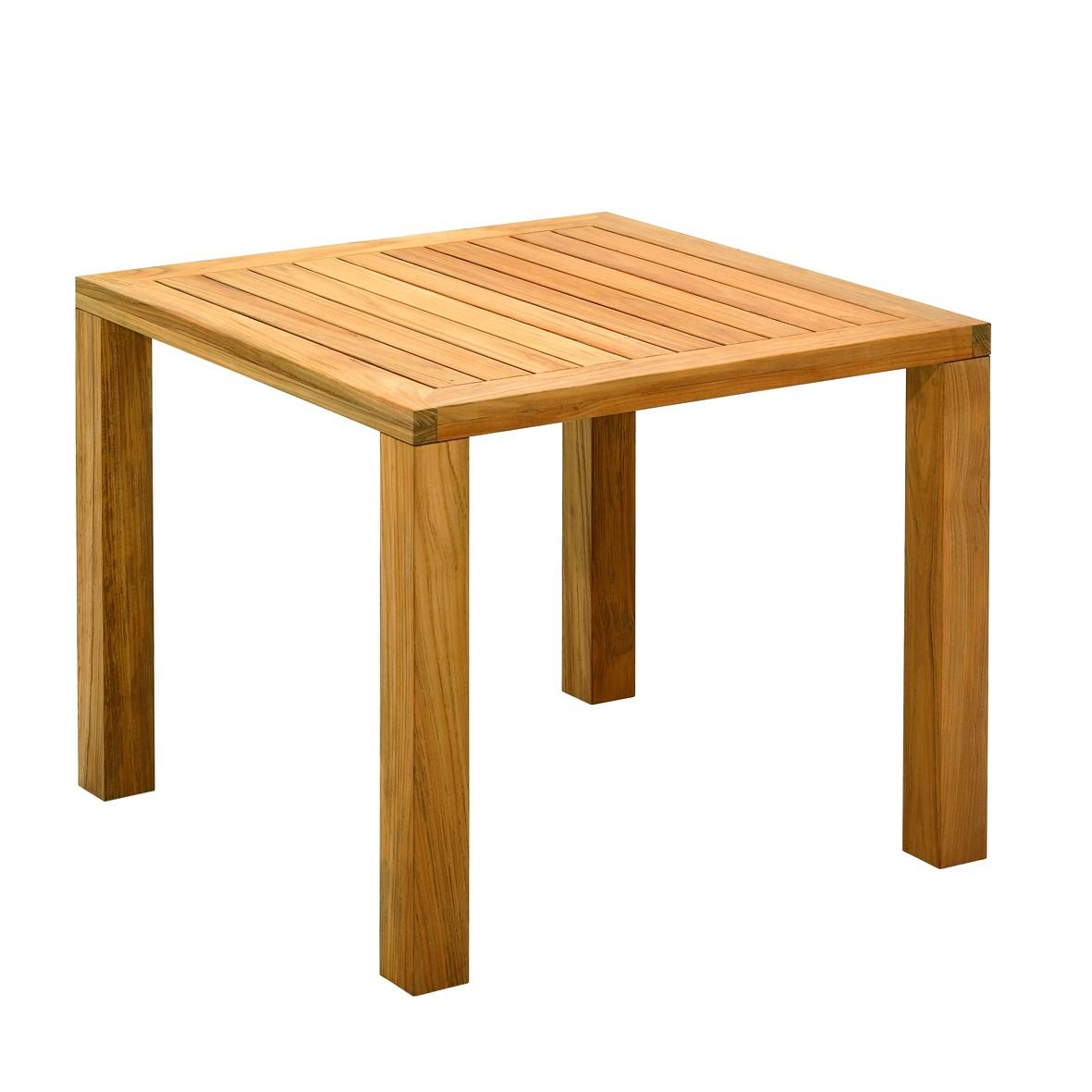 table carr e square de gloster. Black Bedroom Furniture Sets. Home Design Ideas