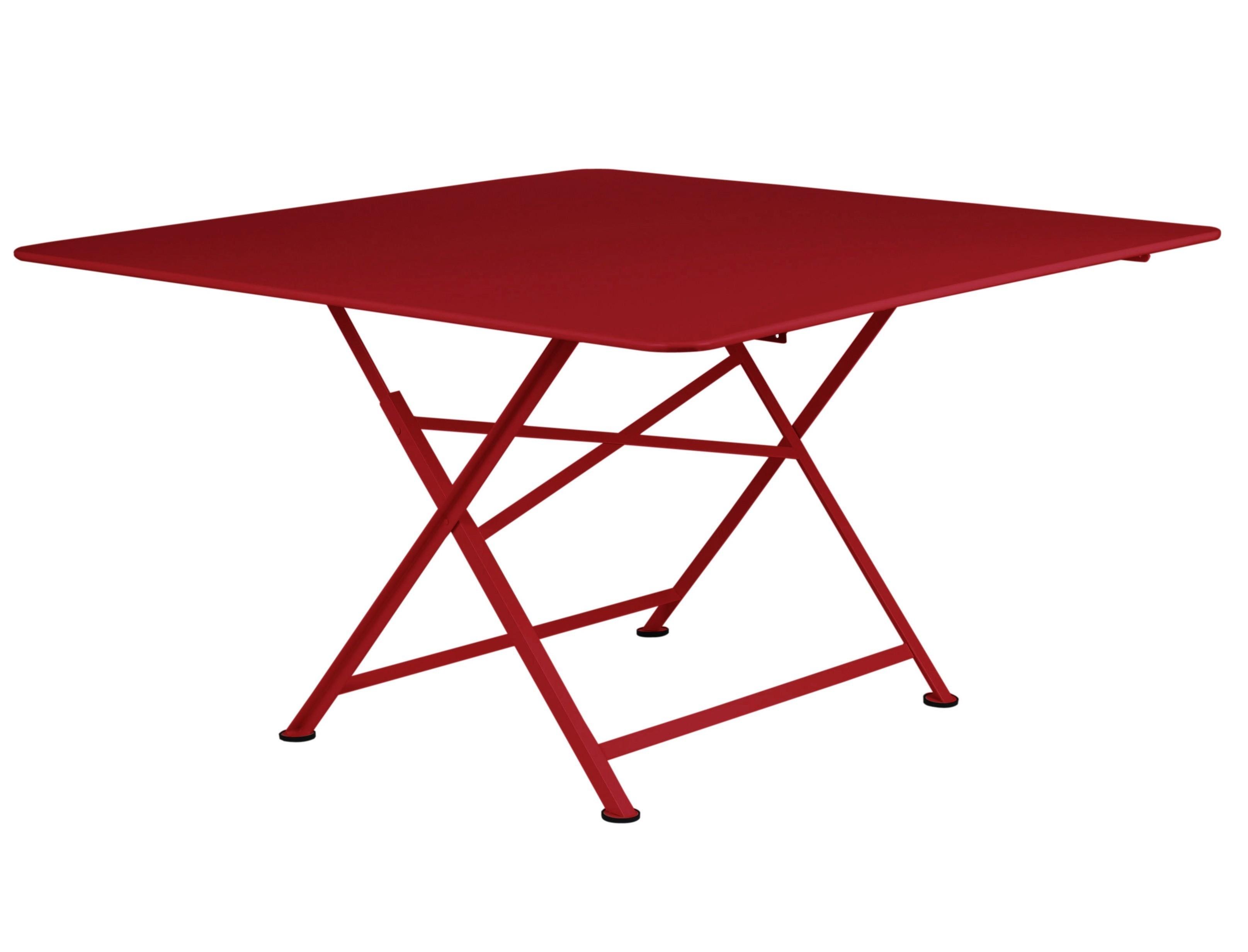 table pliante cargo de fermob piment. Black Bedroom Furniture Sets. Home Design Ideas