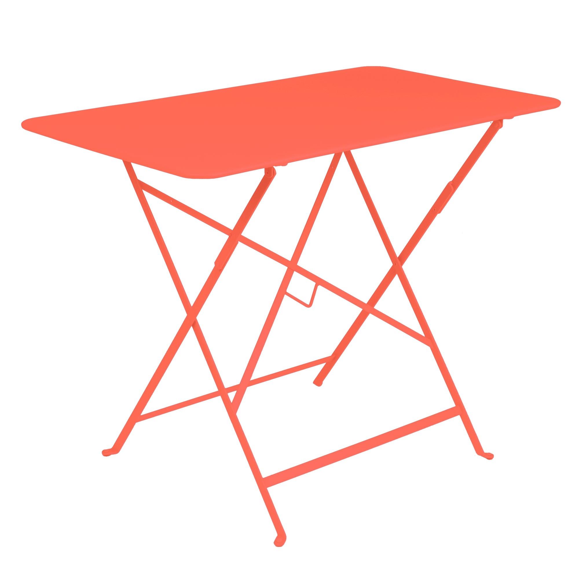 table rectangulaire 97 x 57 cm bistro de fermob capucine. Black Bedroom Furniture Sets. Home Design Ideas