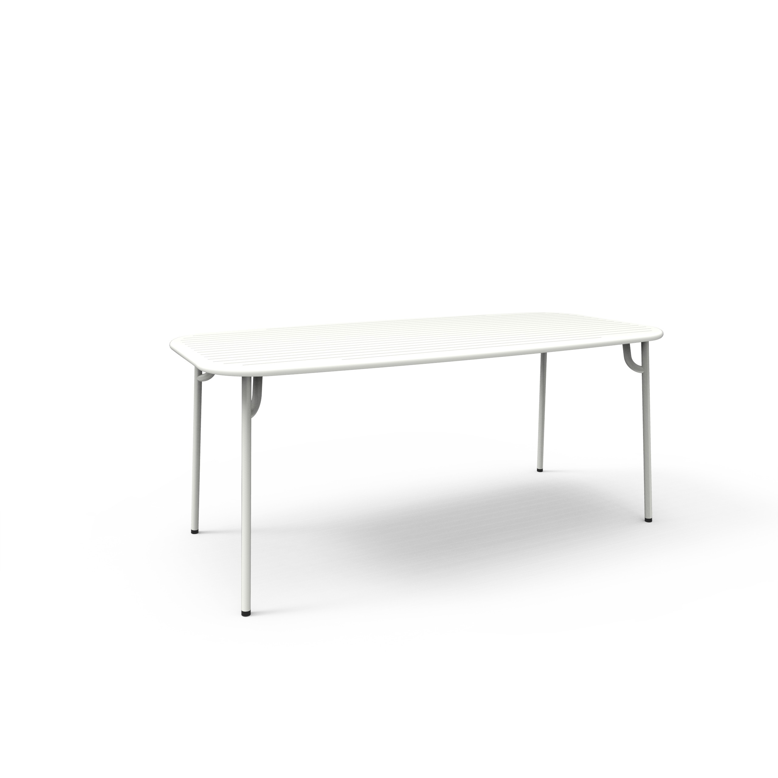 table rectangulaire week end de petite friture 180x85x75 blanc. Black Bedroom Furniture Sets. Home Design Ideas