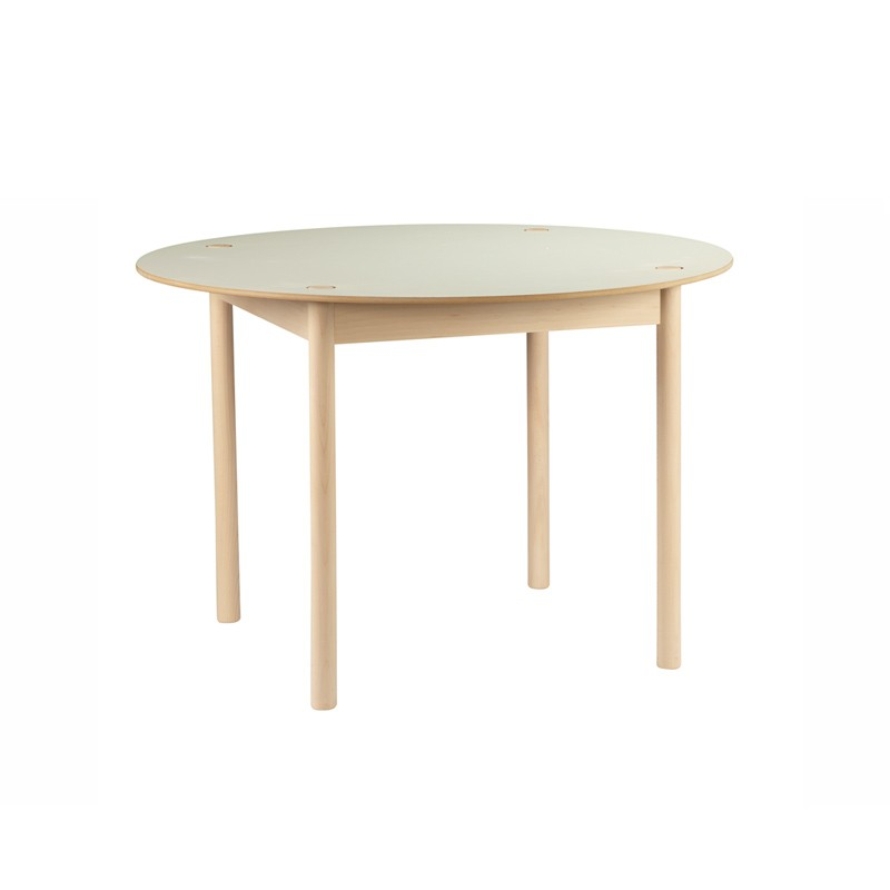 Table ronde c44 de hay blanc - Table ronde blanc ...
