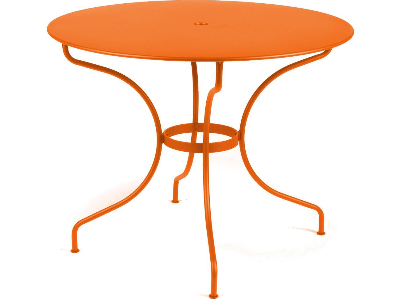 Table ronde op ra de fermob carotte - Fermob opera table ...