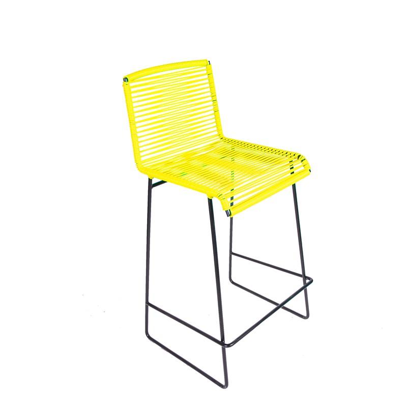 tabouret de bar cenote de boqa jaune imp rial. Black Bedroom Furniture Sets. Home Design Ideas