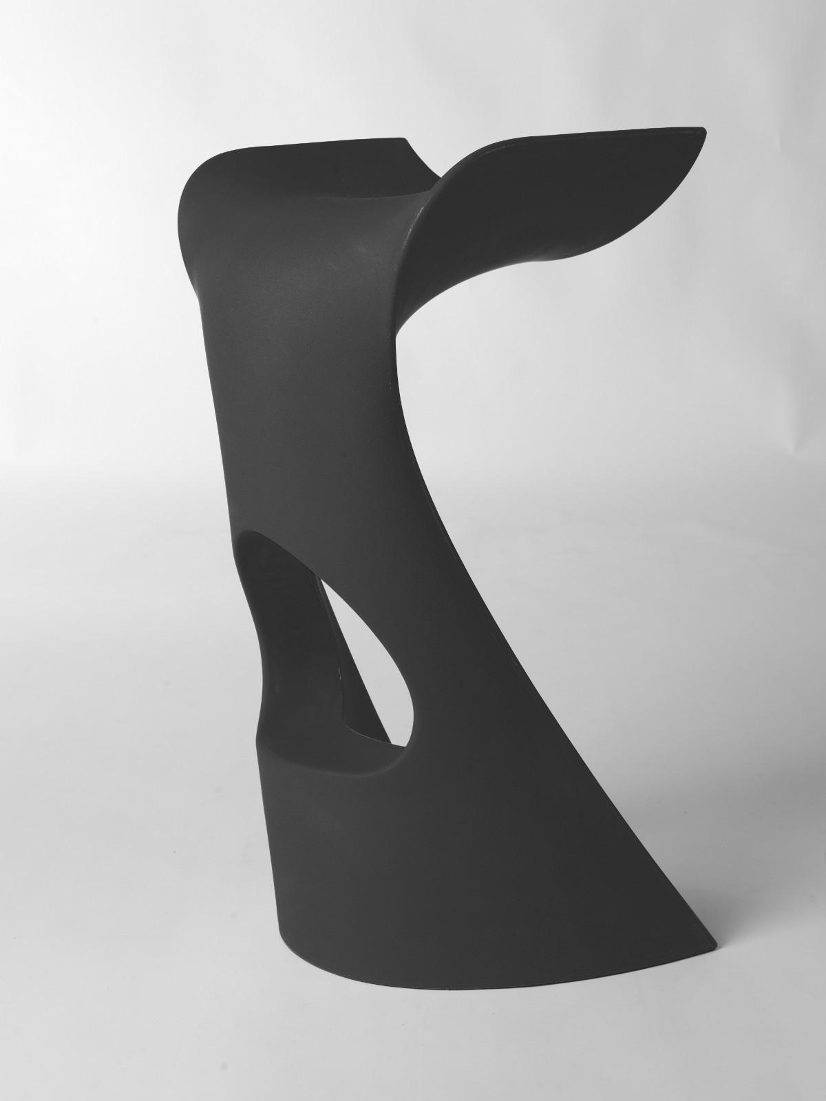 chaussures de séparation 6ae33 03ae3 Tabouret KONCORD de Slide gris