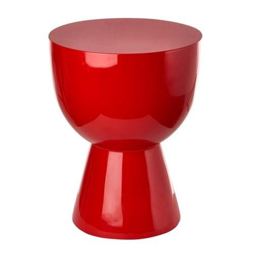 tabouret tam tam de pols potten rouge. Black Bedroom Furniture Sets. Home Design Ideas
