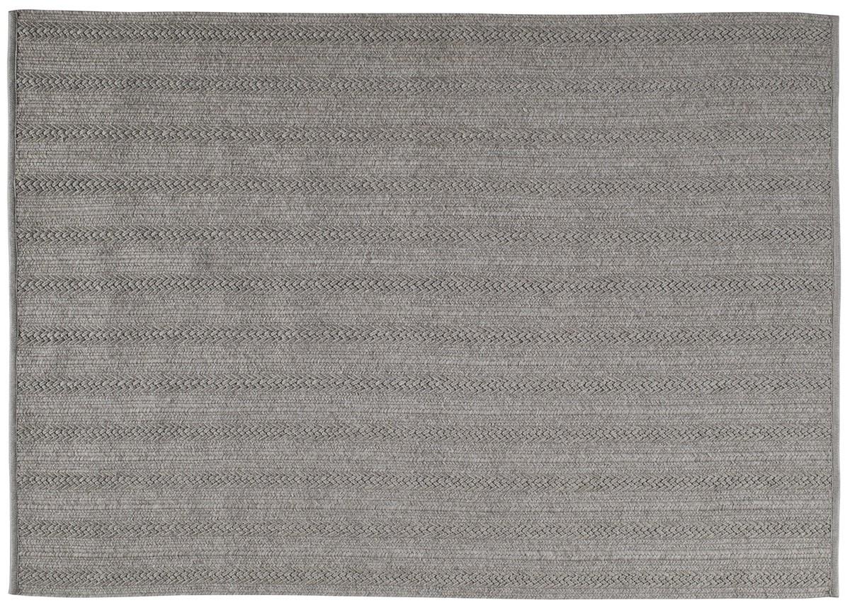 tapis torsade de toulemonde bochart 170x240 gris. Black Bedroom Furniture Sets. Home Design Ideas