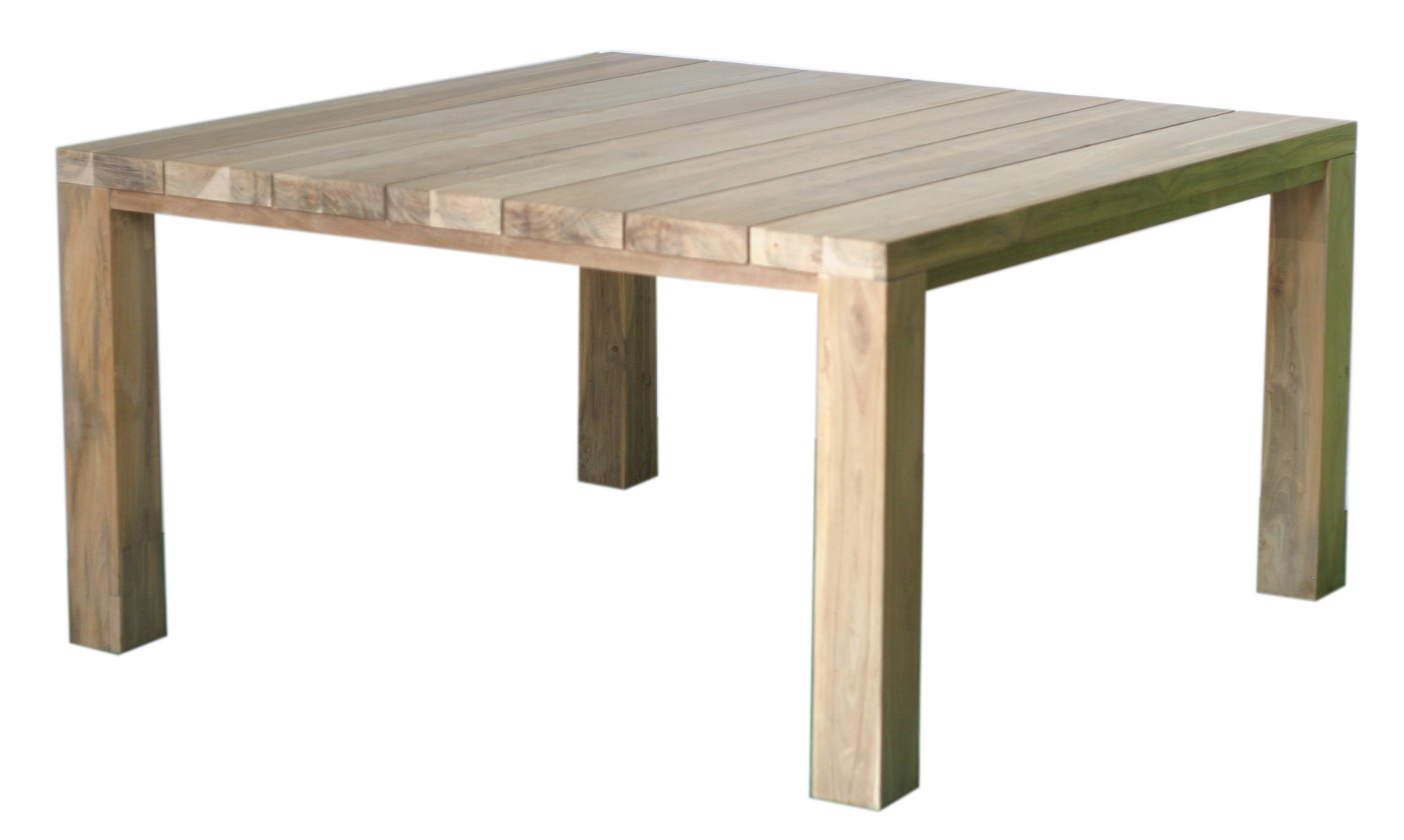 Grande table de jardin carree des id es - Table teck carree ...