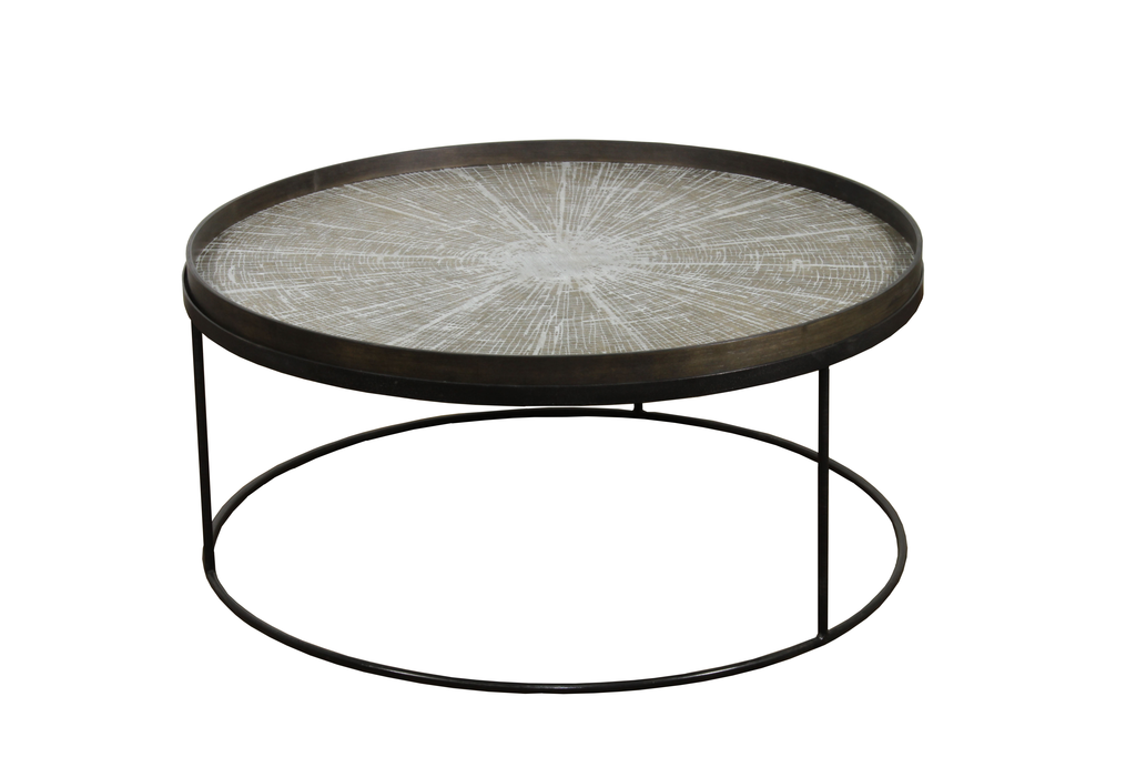 round tray table basse extra large de notre monde. Black Bedroom Furniture Sets. Home Design Ideas