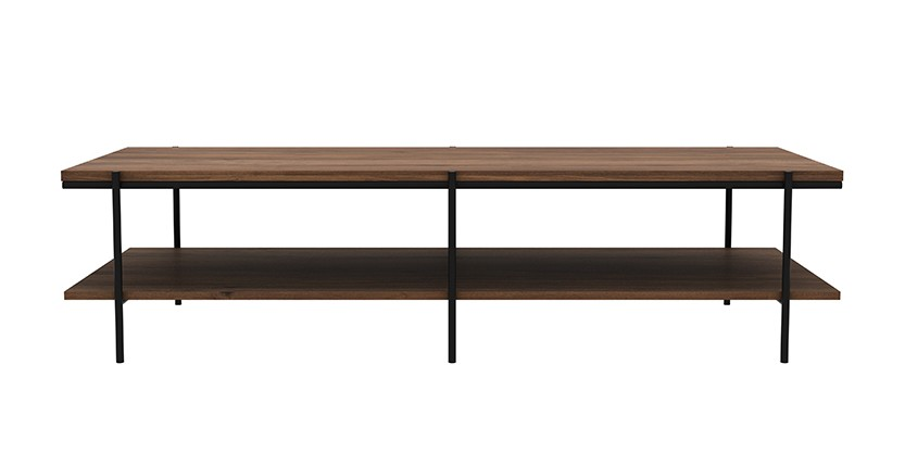 Table basse en noyer rise d 39 ethnicraft for Table basse ethnicraft