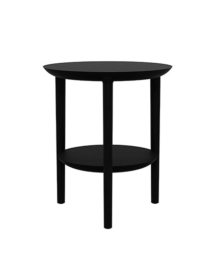 table d 39 appoint bok d 39 ethnicraft noir. Black Bedroom Furniture Sets. Home Design Ideas