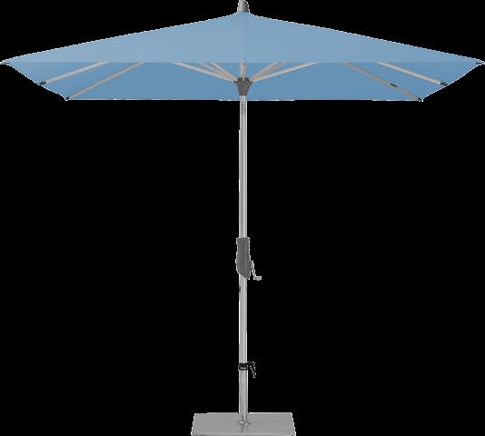 parasol alu twist 250x200 de glatz 515 cloud. Black Bedroom Furniture Sets. Home Design Ideas