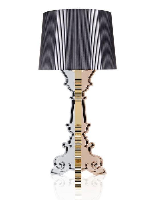 lampe bourgie de kartell multicolore titane. Black Bedroom Furniture Sets. Home Design Ideas