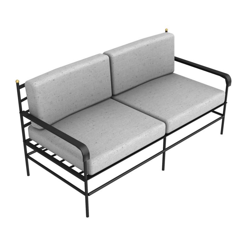 canap toscana de unopiu 39 salons ext rieurs la grande terrasse. Black Bedroom Furniture Sets. Home Design Ideas