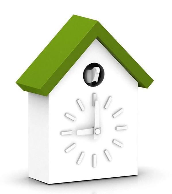 horloge cu clock de magis vert. Black Bedroom Furniture Sets. Home Design Ideas