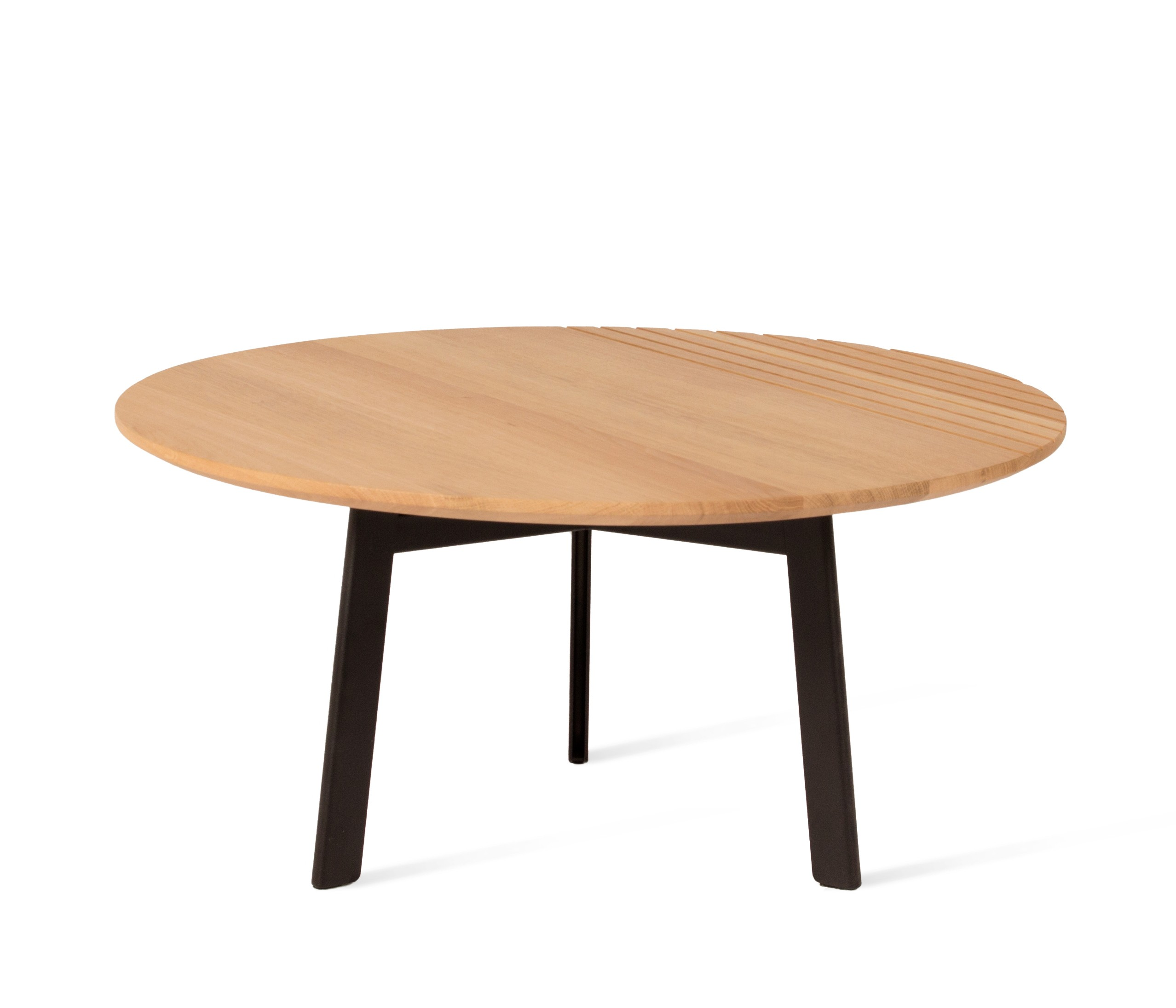 table basse groove oak naturel de vincent sheppard 2 tailles. Black Bedroom Furniture Sets. Home Design Ideas